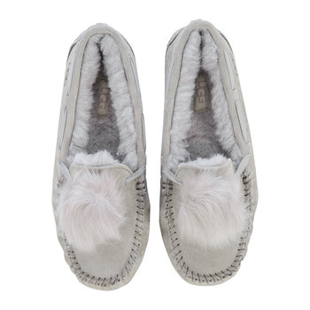 Women's Dakota Pom Pom Slippers - Seal