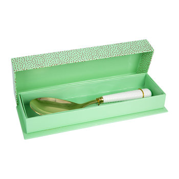 Gold Salad Server Gift Set