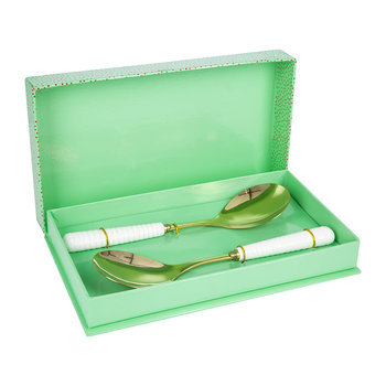 Gold Serving Spoon Gift Set