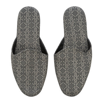 Platinum RC Slippers - Black/Platinum
