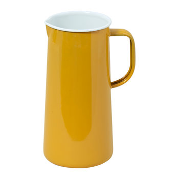Limited Edition Enamel Jug - 3 Pints - Mustard Yellow