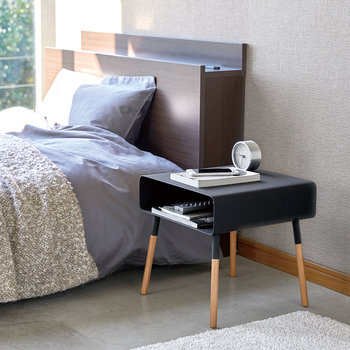 Plane Low Side Table - Black