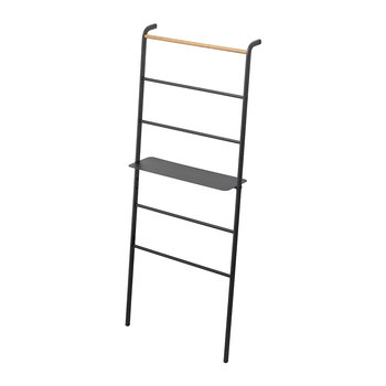 Tower Ladder With Rack - Wide - Black