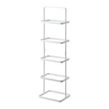 Tower Shoe Rack - White