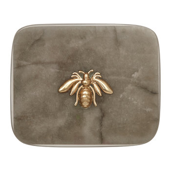 Agate Bee Coaster - Set of 4
