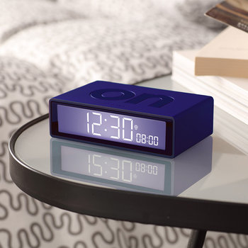 Flip+ Travel Alarm Clock - Blue