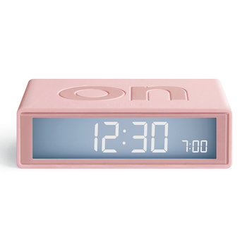 Flip+ Travel Alarm Clock - Pink