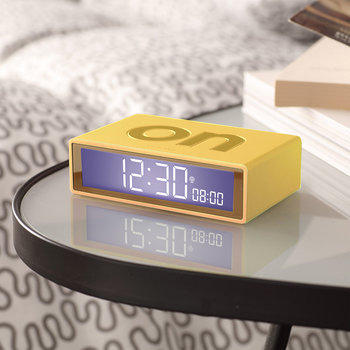 Flip+ Travel Alarm Clock - Yellow