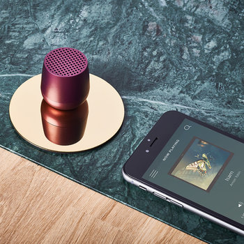 Mino Bluetooth Speaker - Dark Plum