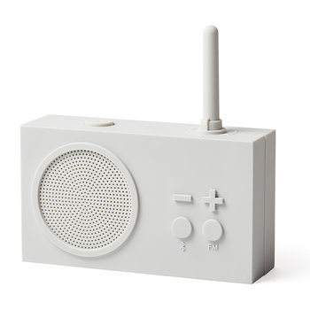Tykho 3 FM Radio & Bluetooth Speaker - Off White
