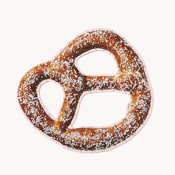 Little Puzzle Thing - Soft Pretzel