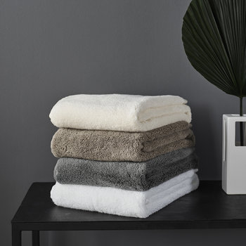 Olympia Towel - Dark Grey