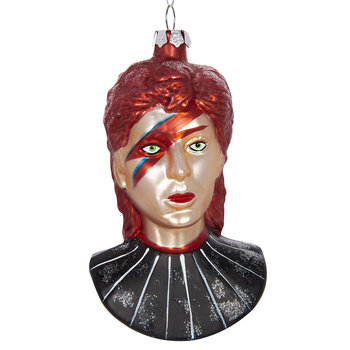 David Bowie Tree Decoration