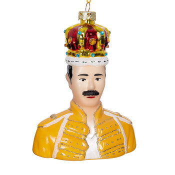 Freddie Mercury Tree Decoration