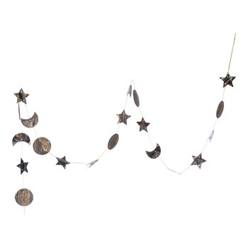 Moon and Star Garland