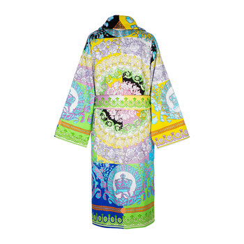 Barocco Patchwork Bathrobe - Multicolor