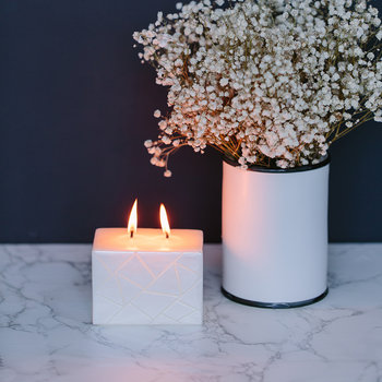 Moment Douillet Rectangle Candle