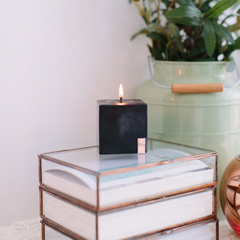 Stormy Desert Pillar Candle - Small