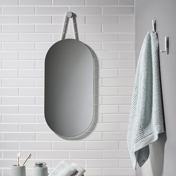 A-Series Wall Mirror - Soft Gray