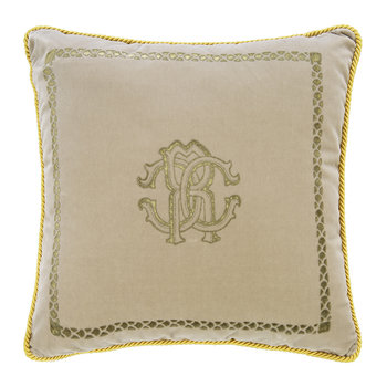 Venezia Reversible Cushion - 40x40cm - Beige