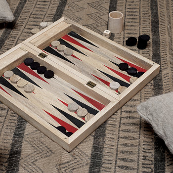 Jeu de Backgammon en Manguier