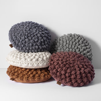 Bobble Cushion - Dusty Rose
