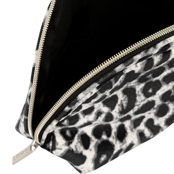 Luxe Velvet Moon Pouch - Animal