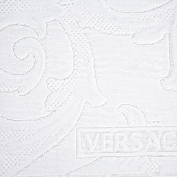 I Love Baroque Bath Mat - White