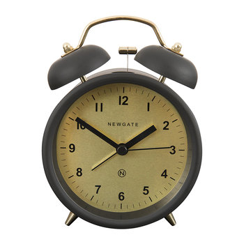 Charlie Bell Alarm Clock - Matt Gravity Grey