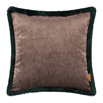 Rialto Giudecca Cushion with Trims - 45x45cm - Blue/Gold