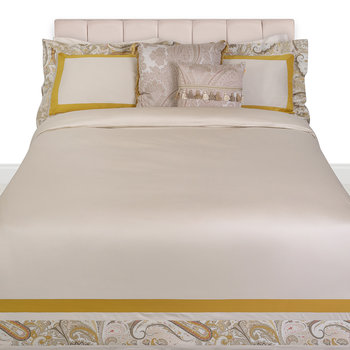 Rialto Spinalonga Quilt Set - Super King - Gold