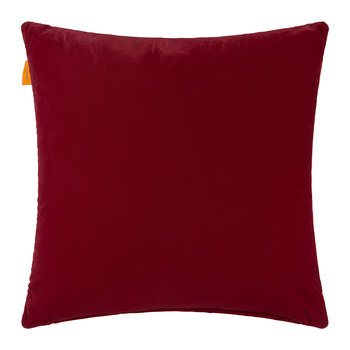 Coussin Brodé Riolto San Zaccaria - 45x45cm - Rouge