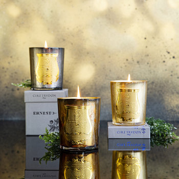 Ernesto Silver Scented Candle - 270g