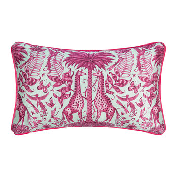 Kruger Double Bolster Cushion - 49x29cm - Magenta