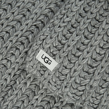 Women's Chunky Knit Scarf - Light Grey