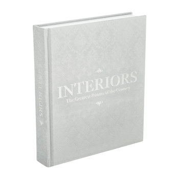 Interiors: The Greatest Rooms of the Century Book - Platinum Grey
