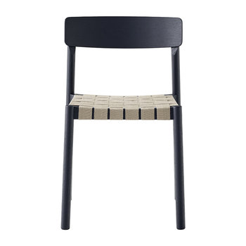 Betty Rattan Chair - Black