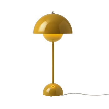 Flowerpot Table Lamp - Mustard