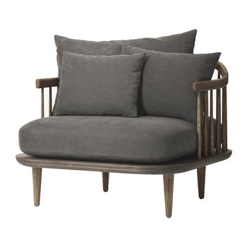 SC1 Fly Chair - Smoked Oiled Oak/Hot Madison 093
