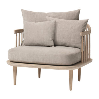SC1 Fly Chair - White Oiled Oak/Hot Madison 094