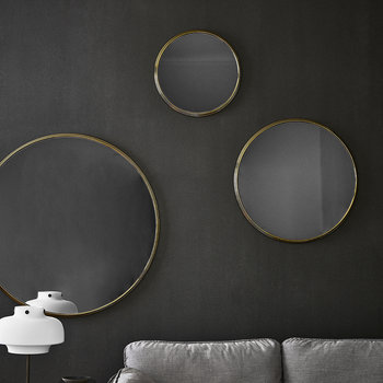 Sillon Mirror - Brass - 46cm