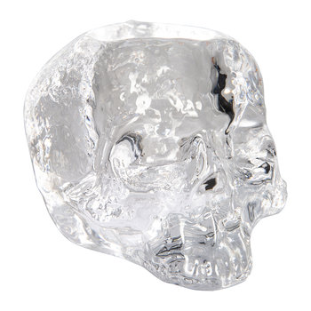 Still Life Skull Votive - Clear