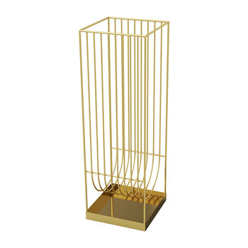 Curva Umbrella Stand - Gold