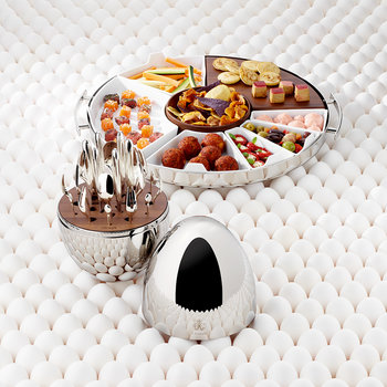 Stainless Steel Mood Party Tray