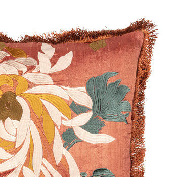 Dahlila Pillow Cover With Fringe - 50x50cm