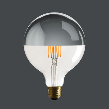 G125 Mirror Top Spherical Bulb
