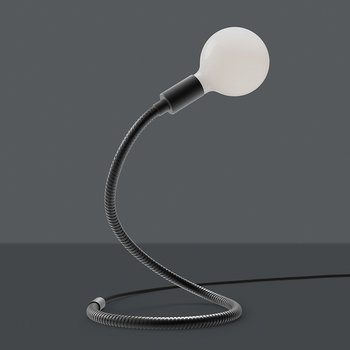 Wave Table Lamp - Black