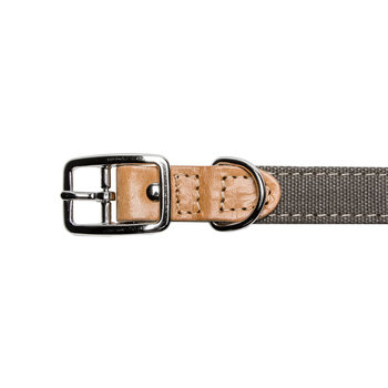 Tivoli Leather Collar - Canvas
