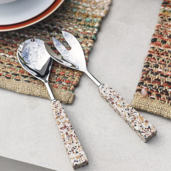 Terrazzo Salad Server - Set of 2
