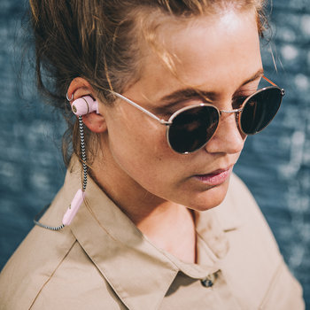 aVibe Wireless Bluetooth Earphones - Dusty Pink